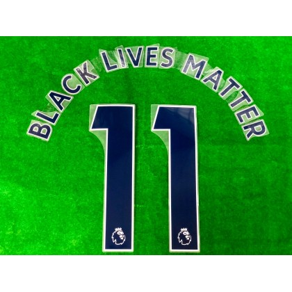 Official BLACK LIVES MATTER EPL NAVY PRINT
