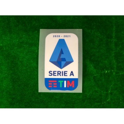Official Italian Calcio SERIE A TIM Player Size 2020-21 Sleeve Patch