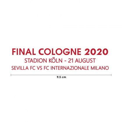 FINAL COLOGNE 2020 Sevilla FC 2019-20 Europa League Final Match details