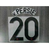 Official v.PERSIE #20 Manchester United Away UCL 2012-13 Print
