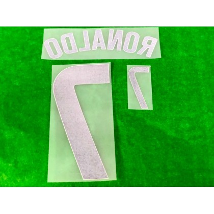 Official RONALDO #7 Portugal FPF Home 2020-21 PRINT