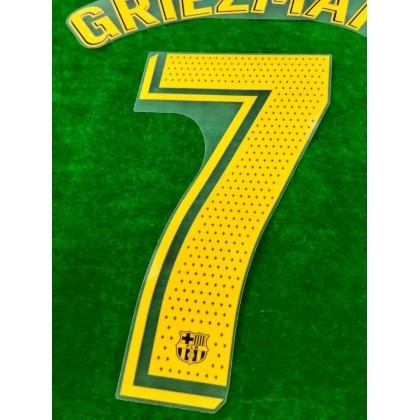 OFFICIAL PLAYER ISSUE GRIEZMANN #7 FC Barcelona Home 2020-21 PRINT