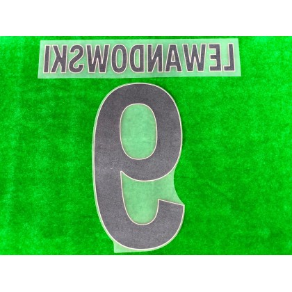 Official LEWANDOWSKI #9 FC Bayern Munich Away 2020-21 PU PRINT