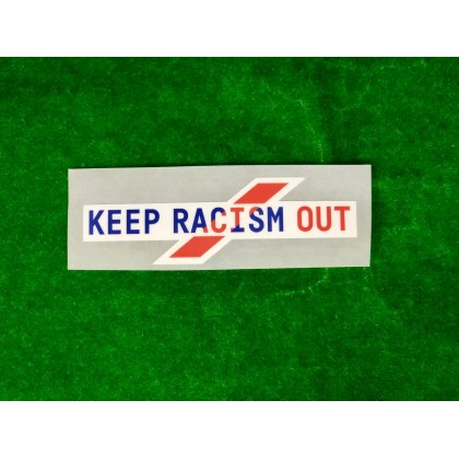 Official Italian Calcio SERIE A KEEP RACISM OUT Sleeve Patch