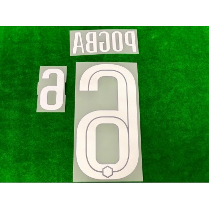 Official POGBA #6 France FFF Away 2020-21 PRINT