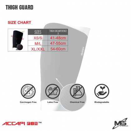 ACCAPI NN565 THIGH Support FIR Guard