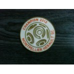 Official French Ligue 1 2012 Champion Montpellier Home Senscillia Patch