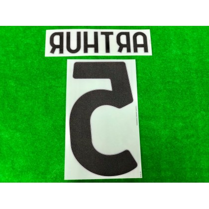 Official ARTHUR #5 Juventus FC Away 2020-21 PRINT