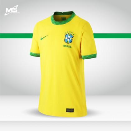 NIKE Brazil CBF Home 2020-21 Stadium Jersey