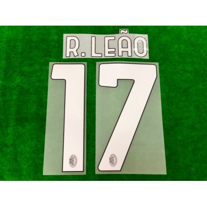 Official R.LEAO #17 AC Milan Home 2020-21 Name Number