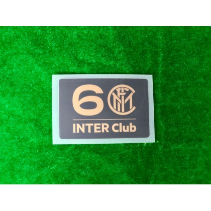 OFFICIAL Inter Milan 60 Inter Club Sleeve patch
