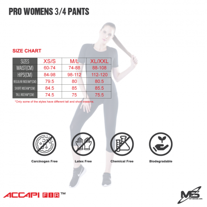ACCAPI NA554 Pro Women's 3/4 Trousers
