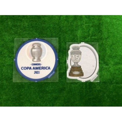 Official Player Issue Uruguay COPA AMERICA 2021 Sleeves Patches