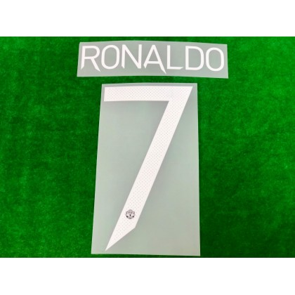 Official RONALDO #7 MUFC Home UCL CUP 2021-22 PRINT