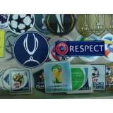 Official UEFA Super Cup + Respect 2012-19 Senscilia Lextra Patch