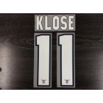 Official KLOSE #11 SS LAZIO Home 2012-13 Name Number