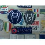 Official FC BAYERN MUNICH UCL Champions 2013 + Respect  + BOH 5 Trophy 2013-14 Senscilia Patch