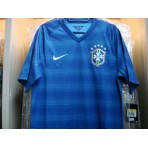 PLAYER VERSION NIKE Brazil Away AUTHENTIC World CUP 2014 Jersey