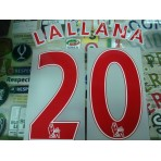 OFFICIAL Liverpool Away 2014-15 EPL RED PS PRO PRINT