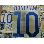 Official DONOVAN #10 USA Home World Cup 2014 2014-16 PU PRINT