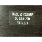Brazil Vs Colombia Quarter Final WC 2014 Match Details for Colombia Away jersey