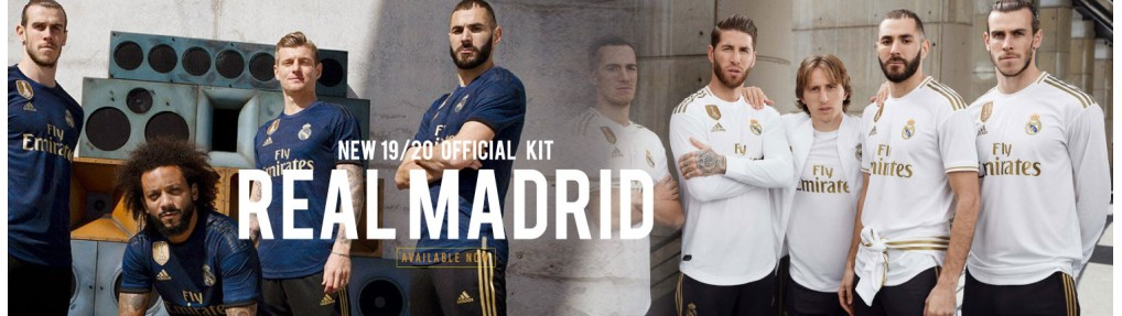 Real Madrid 2019 jersey