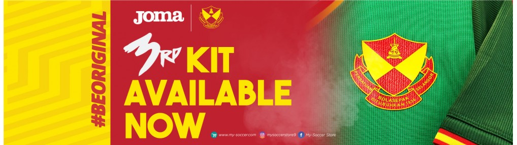 Selangor 3rd player issue 2019 jersey