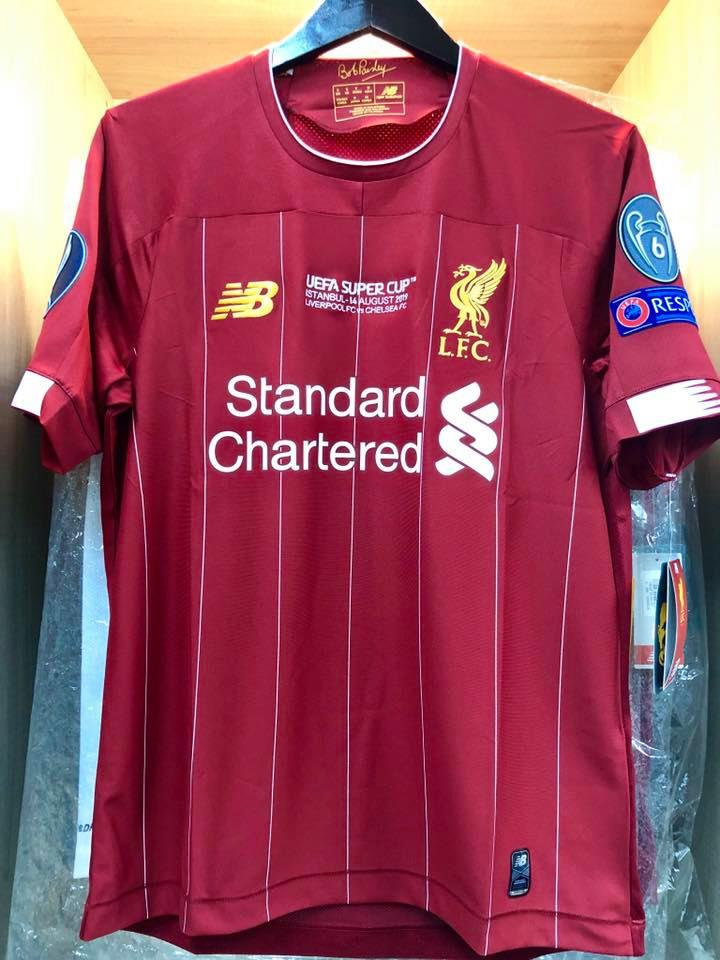 uefa super cup 2019 liverpool fc home stadium   embroidery
