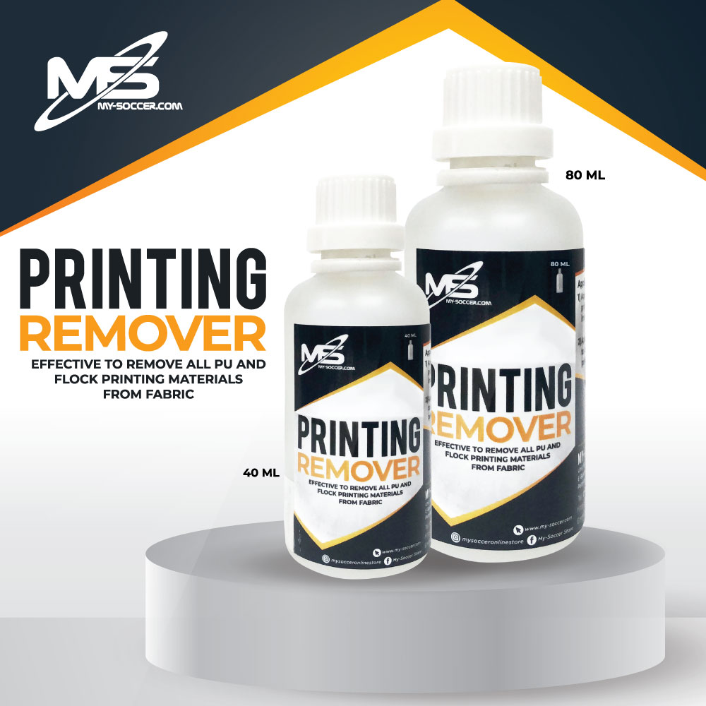 My-Soccer Printing Remover